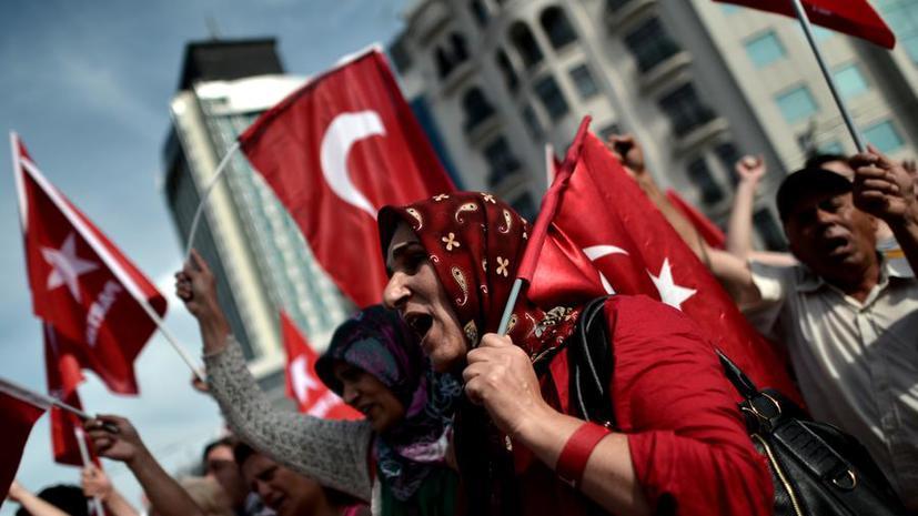 Седьмой день протестов в Турции