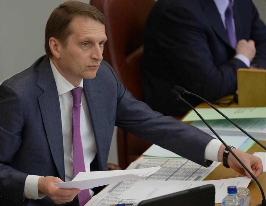 Сергей Нарышкин: Значительная часть населения и бизнеса Украины не согласна с антиевразийским вектором