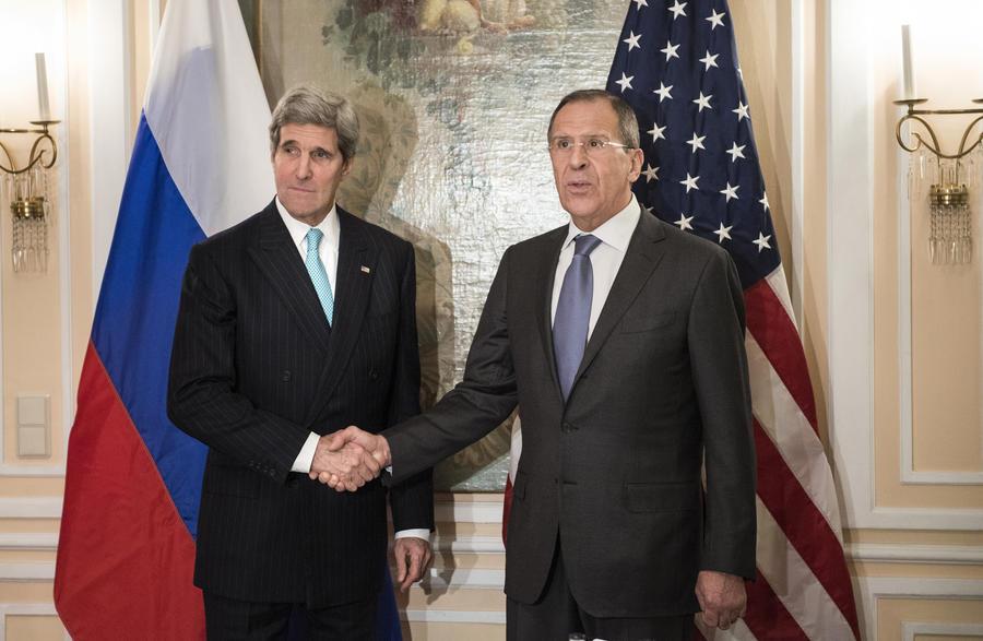 Джон Керри призвал Сергея Лаврова повлиять на Сирию в вопросе вывоза химоружия