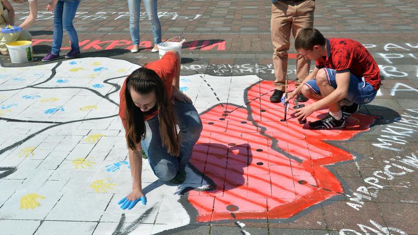 Денис Пушилин: Провозглашение Новороссии - первый шаг к созданию единого государства