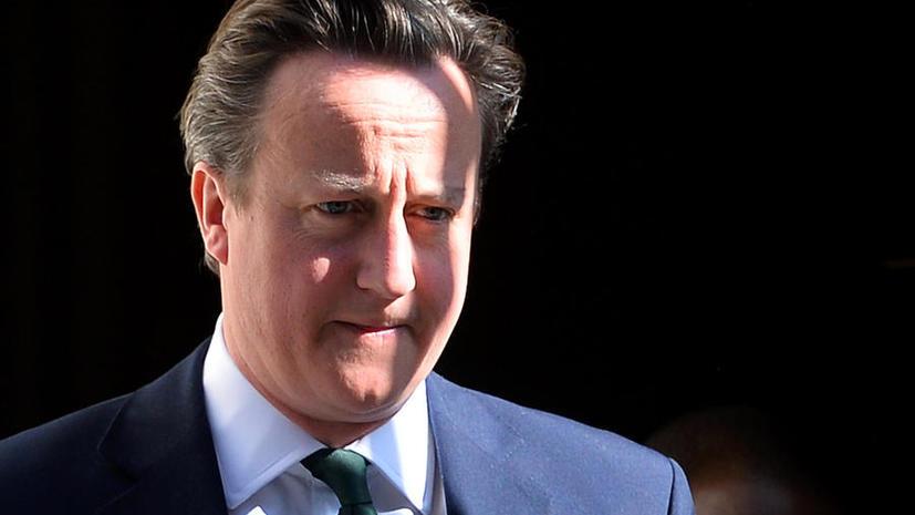 Кэмерон не планирует направлять войска в Сирию