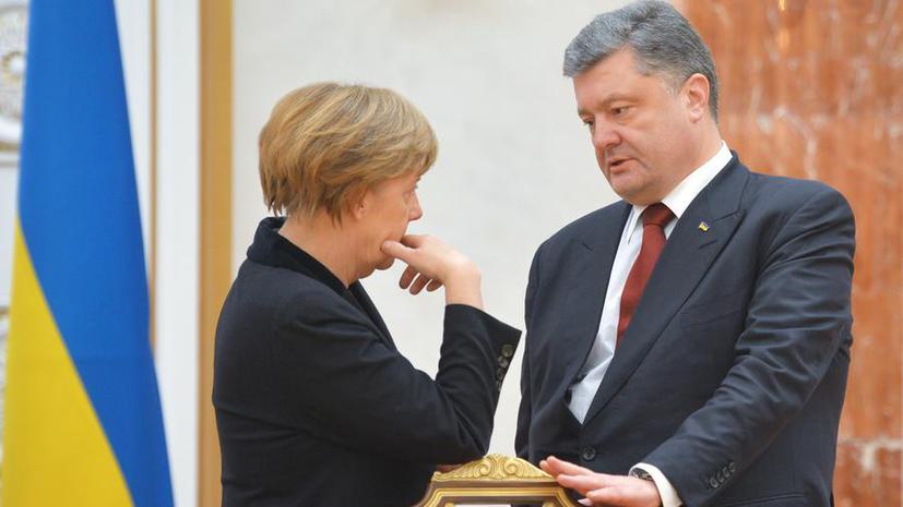 СМИ: Запад ищет варианты на случай провала Петра Порошенко