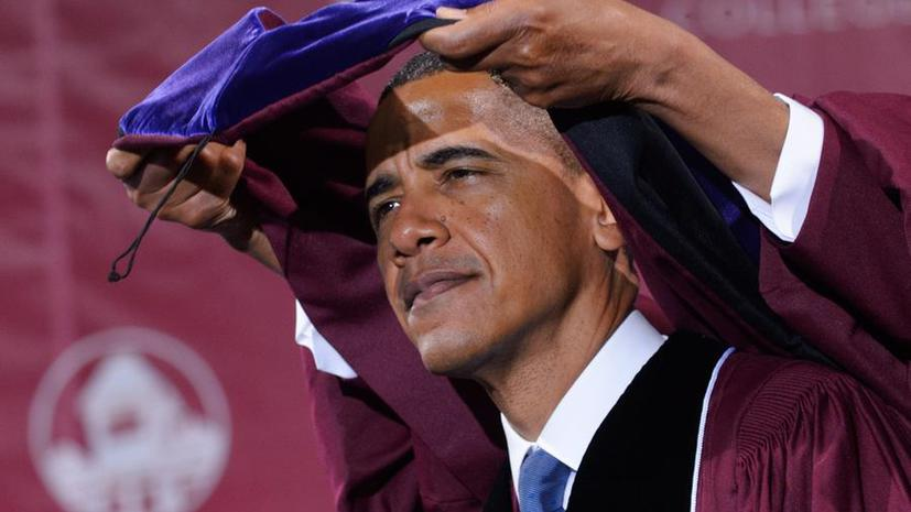 Барак Обама расскажет американским студентам о своих планах по Гуантанамо