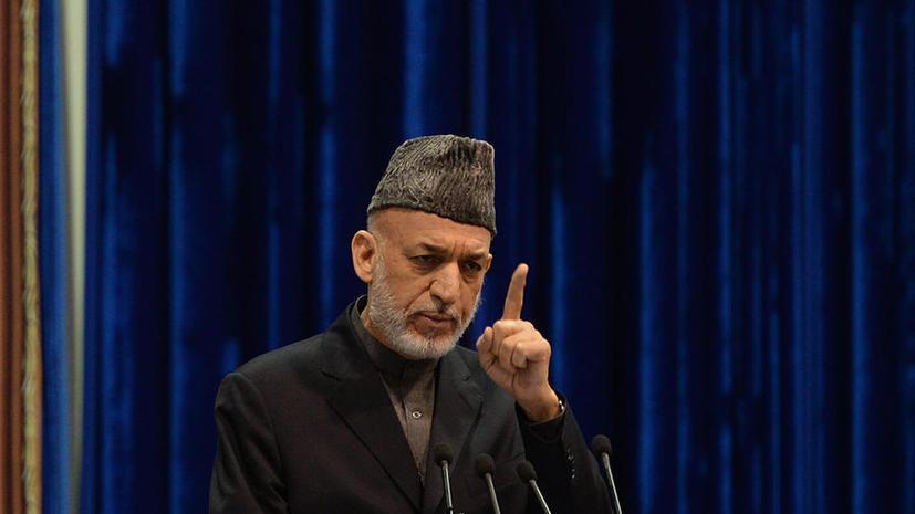 Хамид Карзай: США оказывают давление на Афганистан, задерживая необходимые поставки