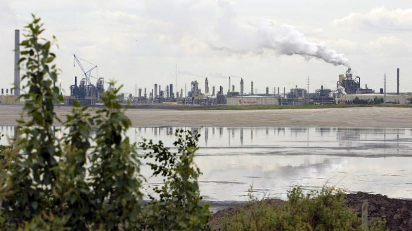 Токсичные нефтяные пески отравляют пресные водоемы