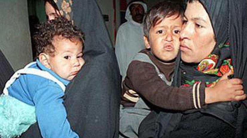 Эхо войны: боеприпасы НАТО – причина рождения больных детей в Ираке