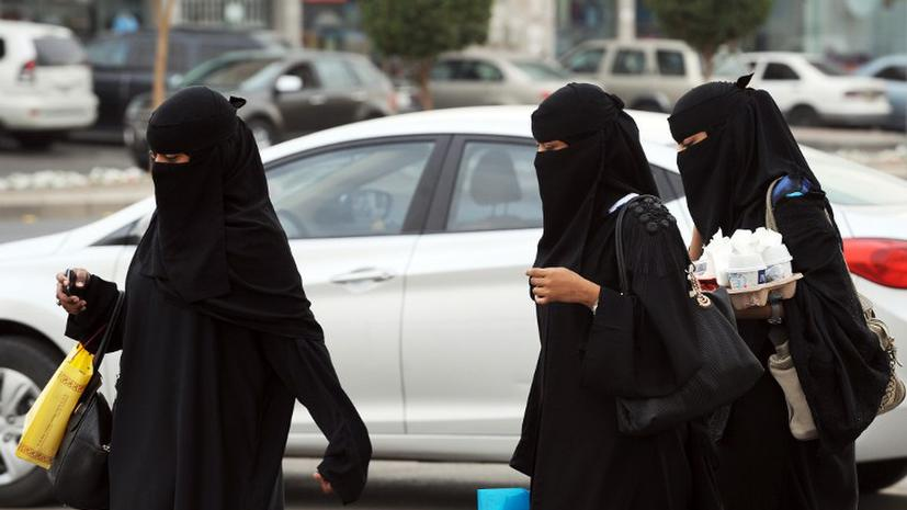 Саудовские женщины будут пищать при пересечении границы