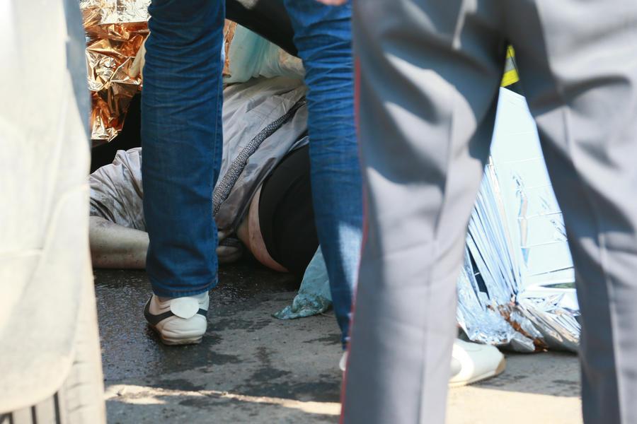 В Пензенской области микроавтобус столкнулся с фурой, погибли десять человек