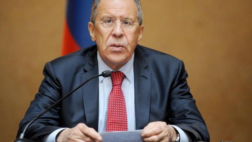 Сергей Лавров: Перемирие на востоке Украины соблюдается, несмотря на провокации украинских силовиков