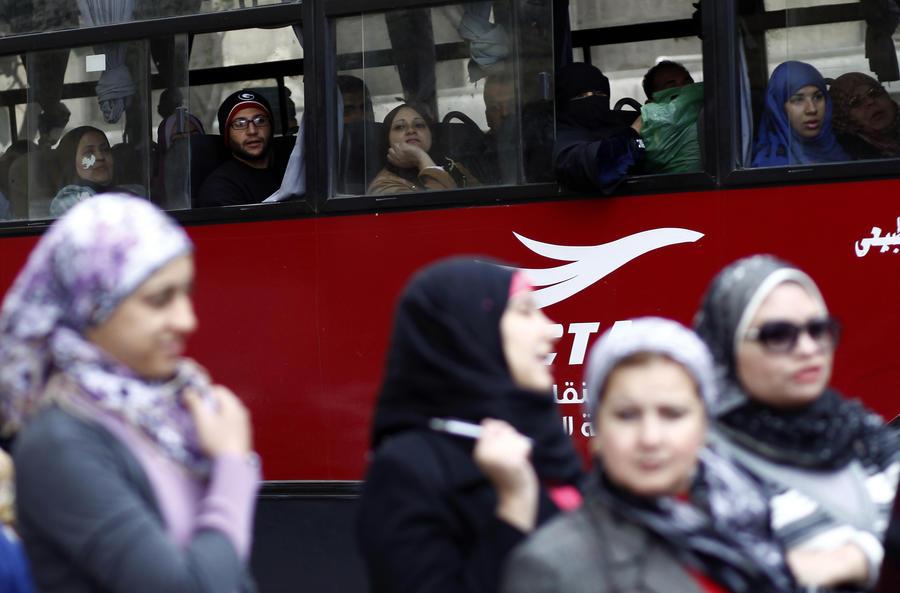 В Египте появились автобусы только для женщин