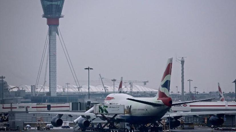Аэропорты Великобритании задерживают рейсы из-за проблем в центре управления полётами