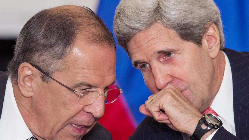 Лавров и Керри обсудят сирийскую ситуацию в Женеве 12 сентября