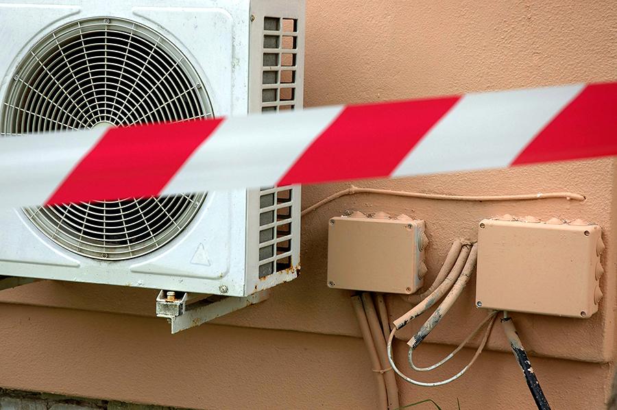 Столичные власти уберут кондиционеры с фасадов зданий