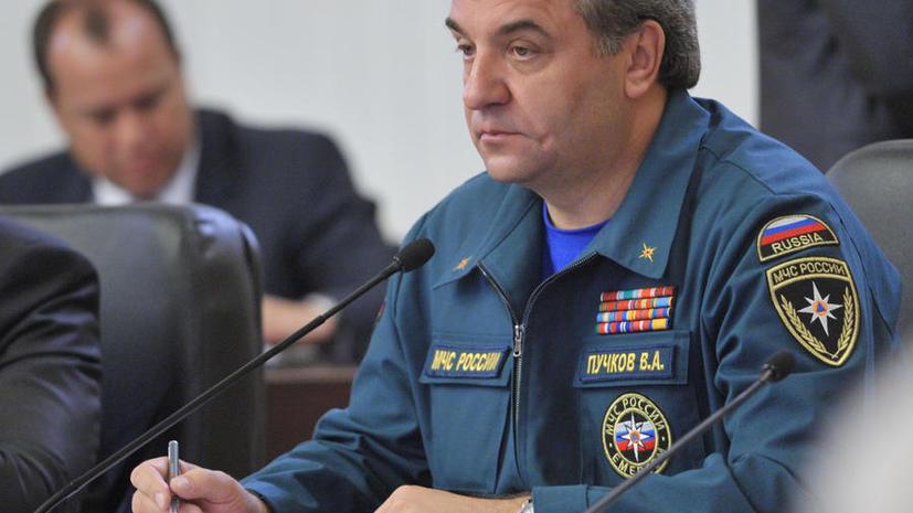 Глава МЧС считает обязательной эвакуацию людей из опасных зон