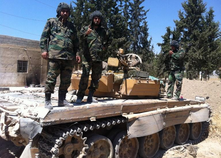 Очевидец: сирийская армия не применяла химоружие, солдаты сражались без противогазов