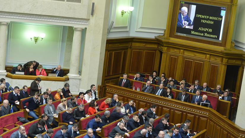 Депутаты Верховной рады проведут внеочередную сессию 28 января