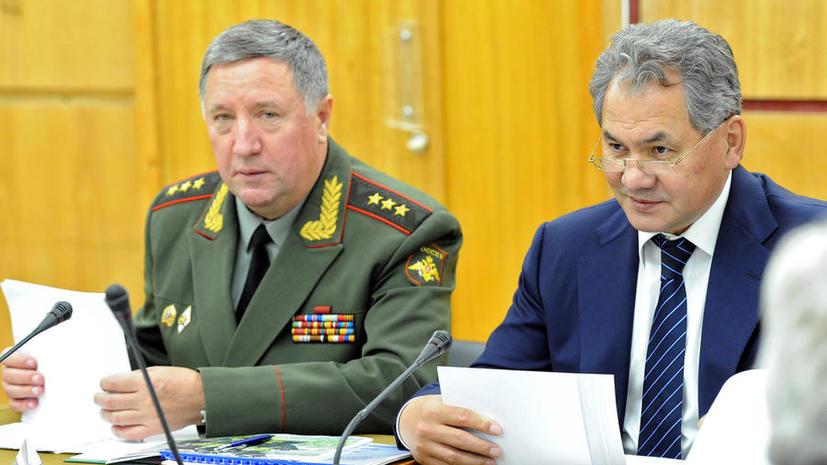 СК обвиняет бывшего главнокомандующего сухопутных войск РФ Владимира Чиркина в получении взятки