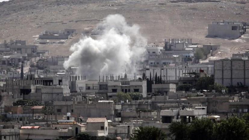 Правозащитники: В результате авиаударов по боевикам ИГ в Сирии гибнут мирные жители