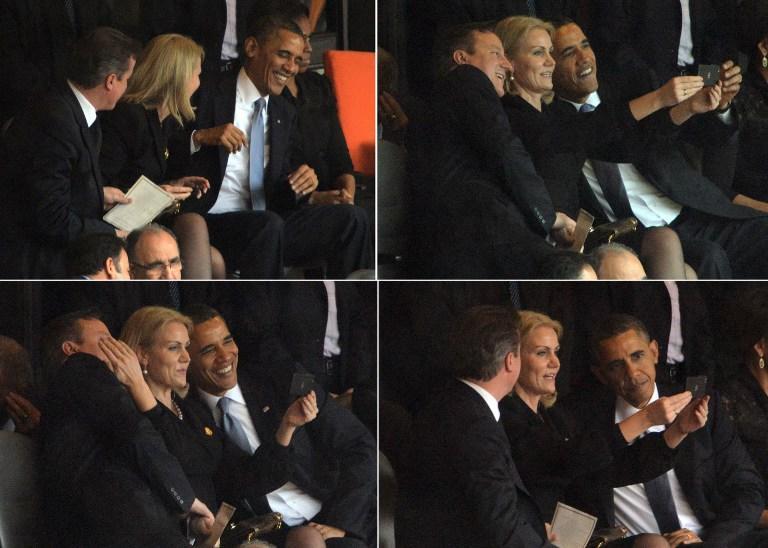 Дэвид Кэмерон предложил датскому премьер-министру продать фото, сделанное на панихиде Нельсона Манделы