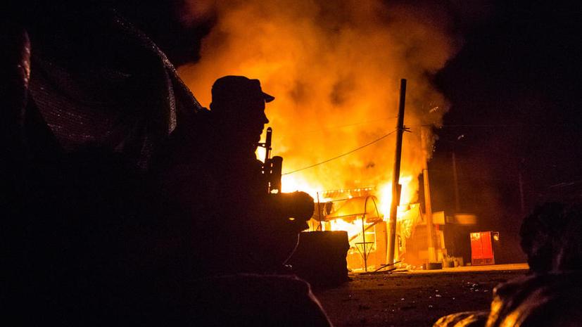 Ночные столкновения на Украине: Славянск обстрелян из установки «Град», в Артёмовске погибли три человека