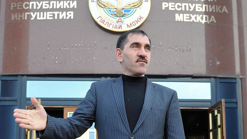 Парламент Ингушетии переизбрал Юнус-Бека Евкурова на пост главы республики