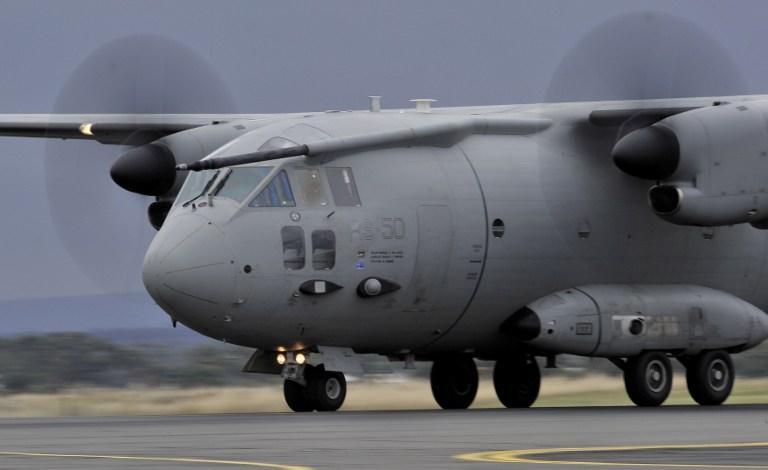 Новые самолёты ВВС США простаивают в аризонской пустыне