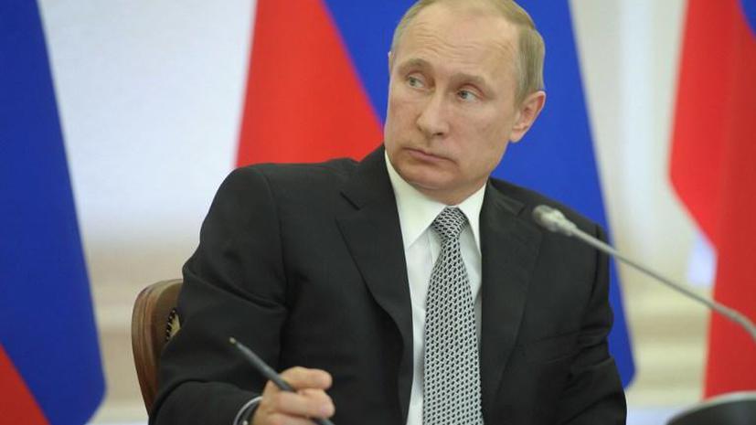 Социологи: Деятельность Владимира Путина на посту президента одобряют 82% россиян