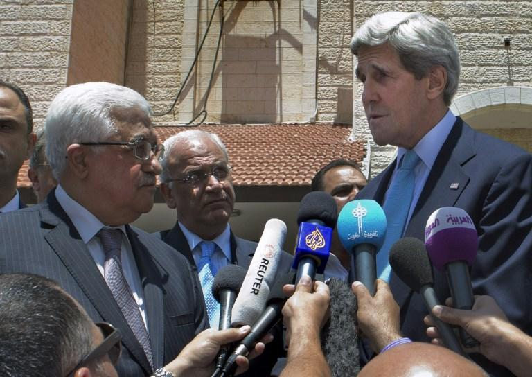 США и Палестина разошлись в оценках визита Джона Керри на Ближний Восток