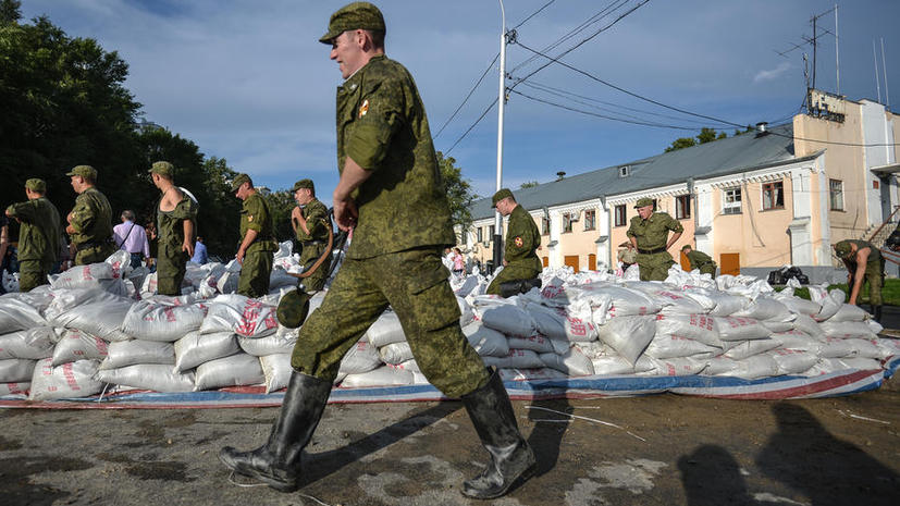 Дальневосточные призывники, чьи семьи пострадали от наводнения, в этом году не пойдут в армию