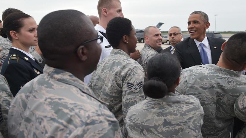 Обама: США планируют развернуть в Либерии военный командный центр для борьбы с лихорадкой Эбола