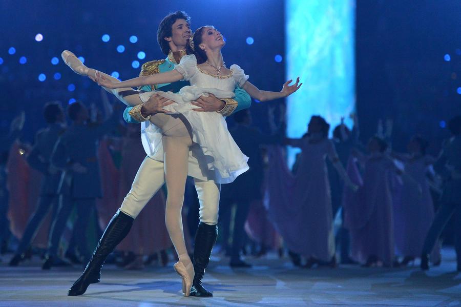 Церемония открытия Олимпиады в Сочи вызвала восхищение иностранных зрителей