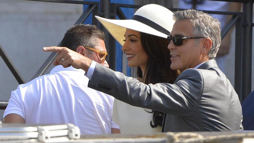 Джордж Клуни и Амаль Аламуддин получили официальный документ о заключении брака