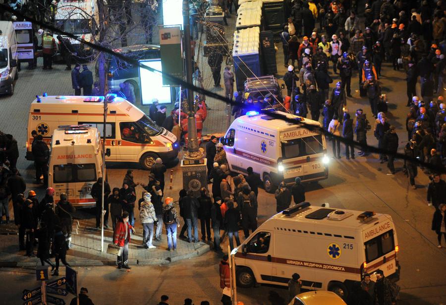 МВД Украины: В Киеве в результате вооружённого нападения погибли два сотрудника ГАИ