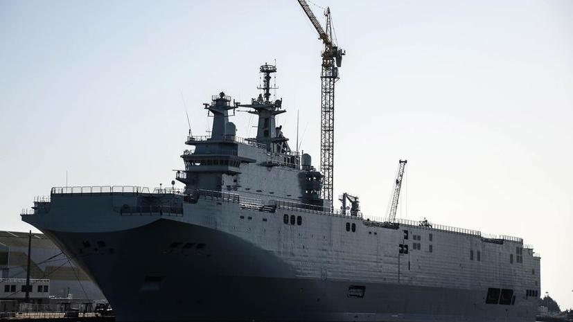 Французский профсоюз: Ситуация с «Мистралями» — проявление слабости со стороны Франции
