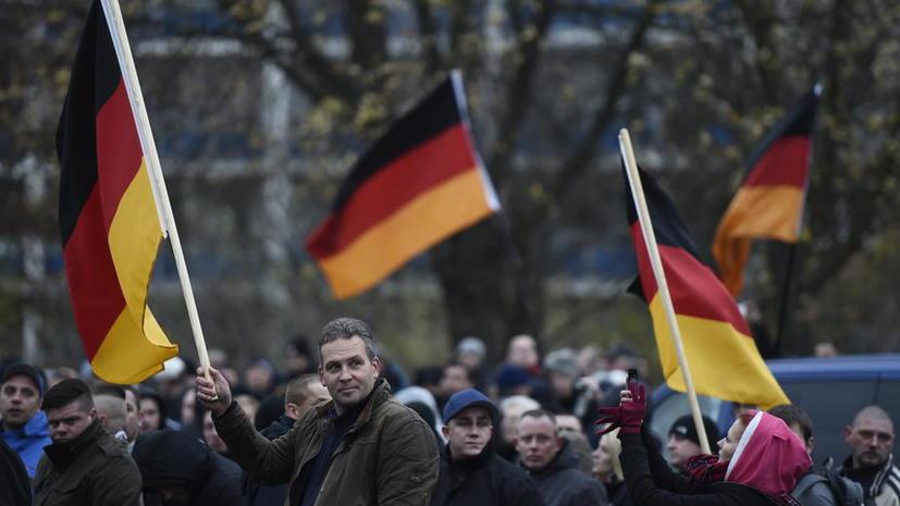 Немецкие СМИ: Демонстранты в Германии не видят в России агрессора