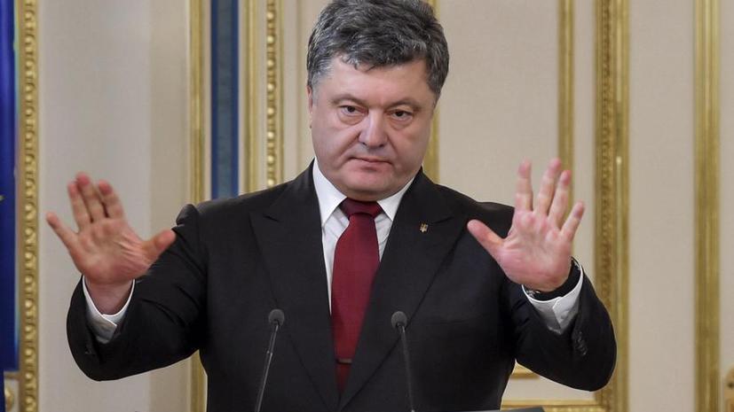 Пётр Порошенко: Я никому не позволю украсть у ветеранов праздник Победы