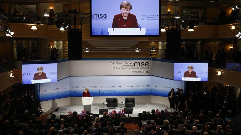 Ангела Меркель: Европа хочет строить безопасность совместно с Россией