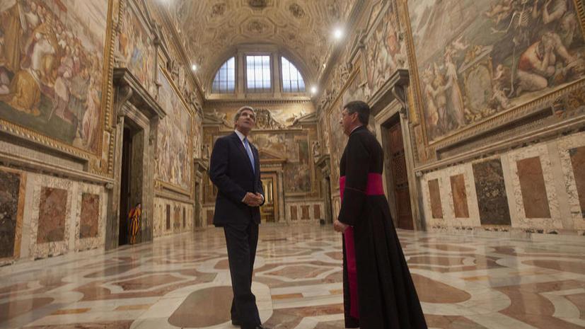 Вашингтон просит Ватикан помочь закрыть тюрьму Гуантанамо