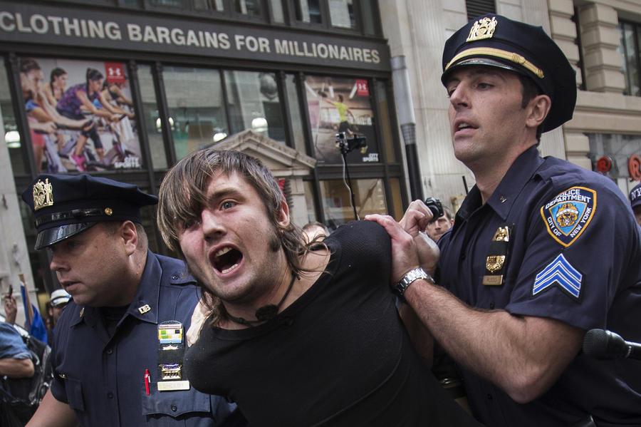 Заседания ООН проходят на фоне многочисленных протестов