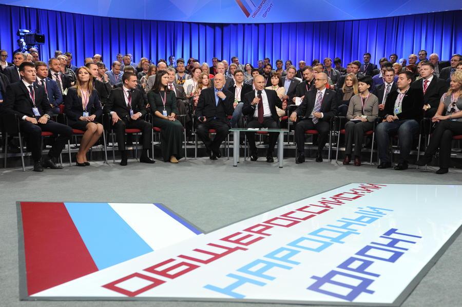 Владимир Путин сегодня примет участие в форуме ОНФ по вопросам здравоохранения