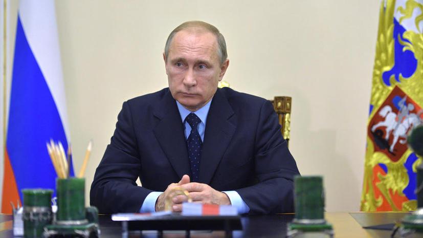 Владимир Путин обсудил с главой Египта Абдель Фаттахом ас-Сиси вопрос безопасности авиасообщения