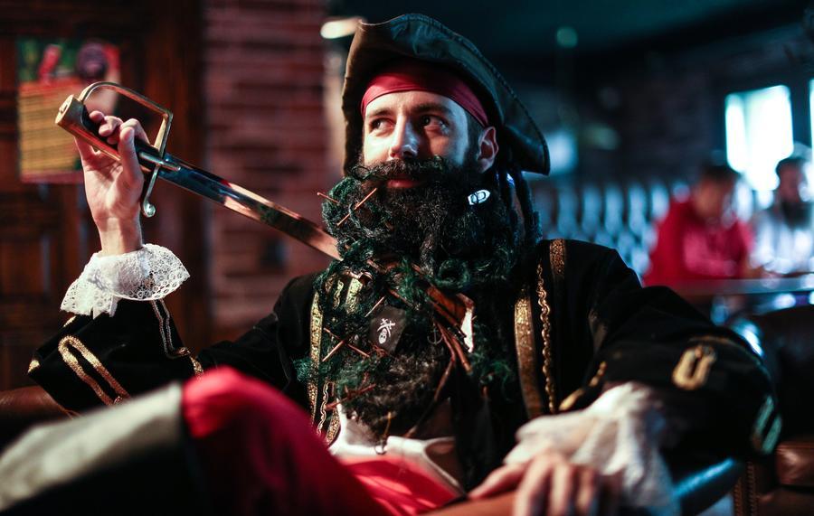 Расти большая и маленькая: в Москве прошёл чемпионат бород и усов