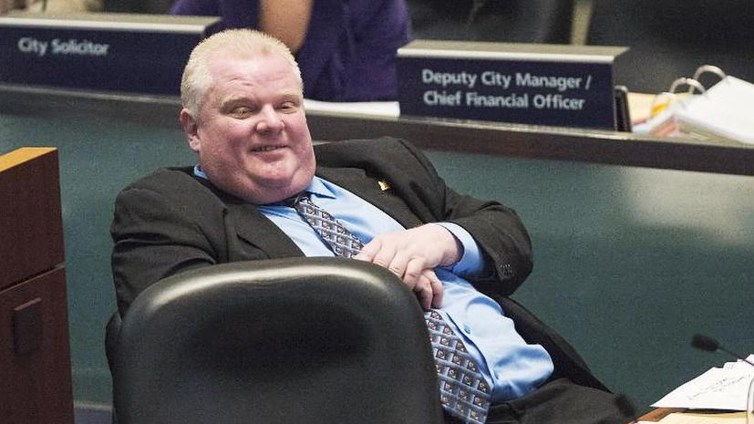 Мэр Торонто Роб Форд лишён части своих полномочий за пьяные выходки