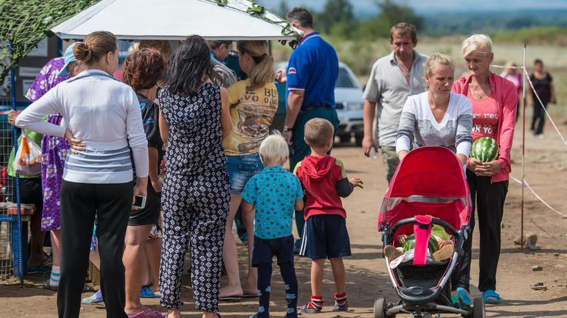 The Financial Times: Киев теряет доверие с ростом числа беженцев