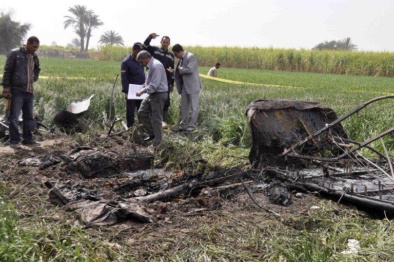 В египетском Луксоре загорелся и упал воздушный шар с туристами, 19 человек погибли