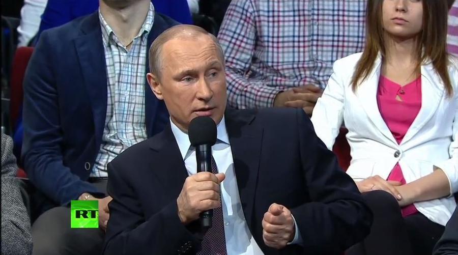 Владимир Путин: Конфликт на Северном Кавказе мог повести Россию по югославскому сценарию