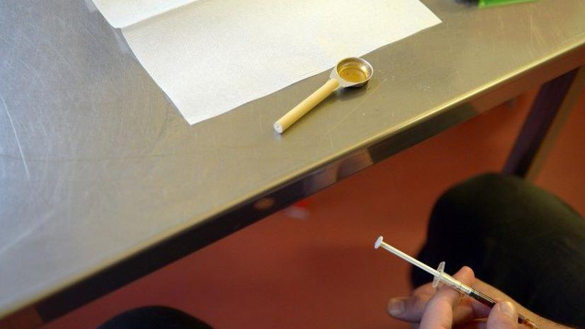 В США растет число героиновых наркоманов