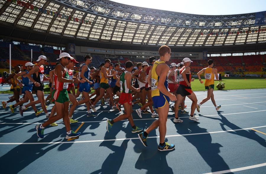 Россия завоевала первое золото на Чемпионате мира по легкой атлетике