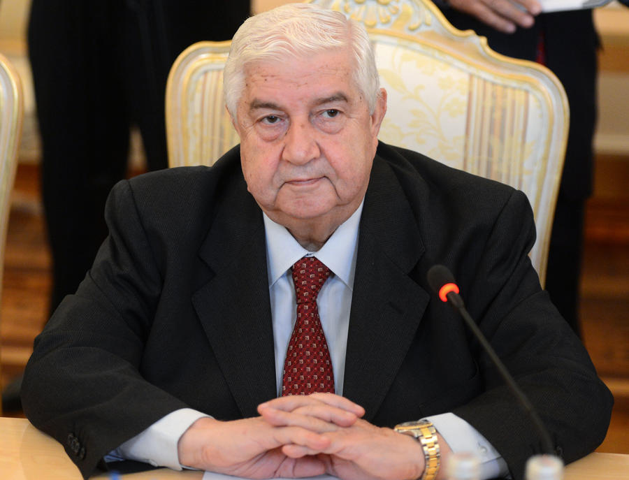 Глава  МИД Сирии Валид Муаллем требует извинений от Джона Керри