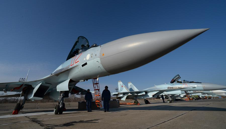 Источник: Россия впервые испытает новейшие Су-35С в боевых условиях в Сирии